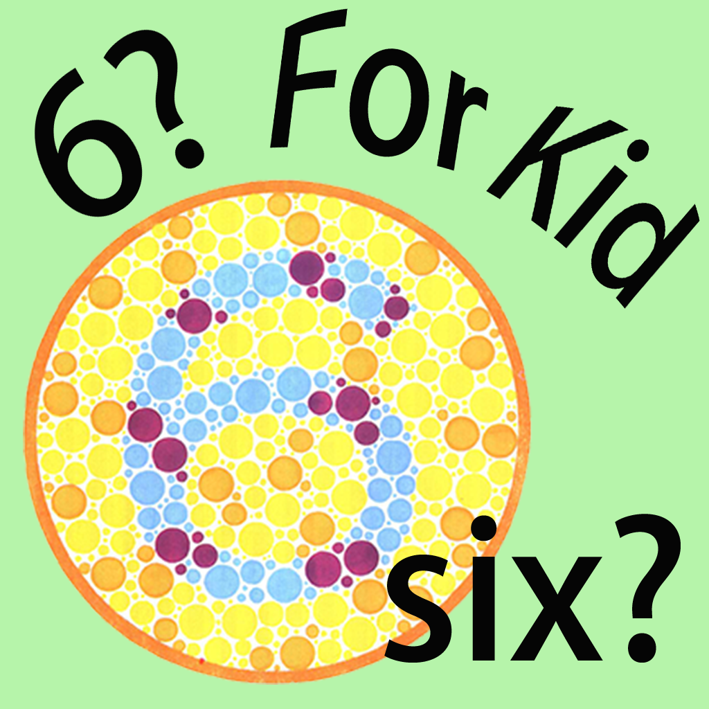 Color Blind Test For Kid
